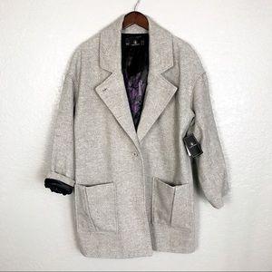 Volcom Volcoon Heather Grey Coat